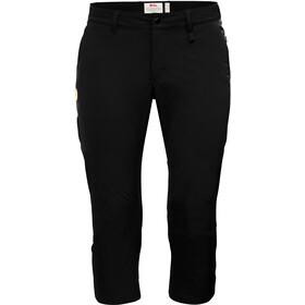 Fjällräven Abisko Pantalones Capri Mujer, black